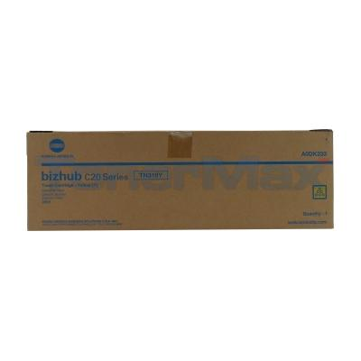 KONICA MINOLTA BIZHUB C20P TONER CARTRIDGE YELLOW